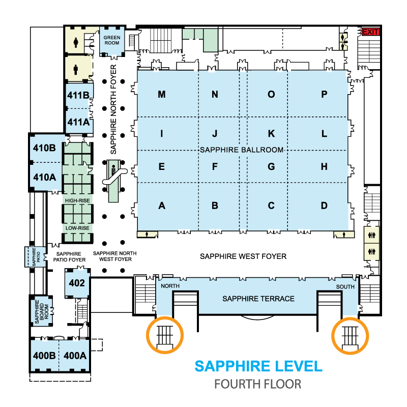 Find Your Way Around The Conference Using The Hilton San Diego Bayfront Floor  Plans.
